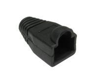 RJ45 Snagless Boot Black x 2