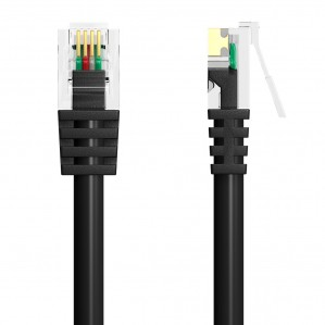 20m very long rj11 adsl broadband modem cable high. Black Bedroom Furniture Sets. Home Design Ideas