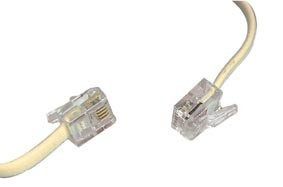 10m long rj11 to rj11 broadband modem adsl cable rj11 modem cable accessories rj11 adsl cables. Black Bedroom Furniture Sets. Home Design Ideas