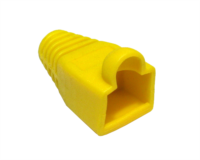 RJ45 Snagless Boot Yellow x 2