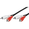 20M Long 2 RCA Phono Audio Interconnect Cable