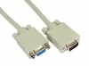 3M VGA CABLE FOR MONITOR /TV TRIPLE SHIELDED SVGA MALE TO FEMALE