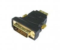HDMI Female Socket To DVI-D 24+1 Male Plug