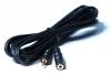 LONG HEADPHONE EXTENSION LEAD 5M 3.5MM MINI JACK PLUG TO SOCKET