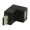 USB Right Angle Adapter 90 Degree