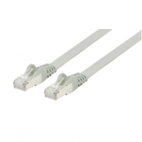 0.25M Flat Grey Cat6 Shielded Copper Ethernet RJ45 Network Cable