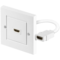 HDMI FACEPLATE WALL SOCKET BOX SHIELDED