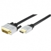 High Quality HDMI Male - DVI-D Male 1.5M