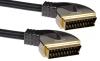 Peerless Sigma High Quality Short Scart Lead 1M Long