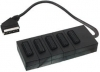 5 WAY SCART SPLITTER BOX