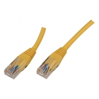 0.5M Short Yellow Cat5e Ethernet Network cable RJ45