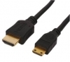 HDMI TO MINI HDMI CABLE 1.5M High Speed With Ethernet Gold Plugs