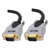 High Quality HD 15 Pin Monitor Cable Gold Plated 10M