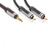 Profigold High Performance Jack To RCA Cable 1.0 m