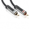 Profigold High Performance Audio Cable RCA 1.0 m