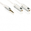 Profigold High Performance Headphone Splitter