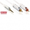 Profigold High Performance Audio Cable Jack To RCA For Ipod 1M