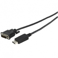 DISPLAYPORT TO DVI-D CABLE 3M