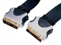 High Quality Flat Scart Lead 5M