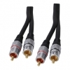 High Quality Long 2 RCA Phono Interconnect 20M