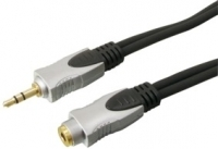 High Quality Short Headphone Extension Cable Lead 1.5M