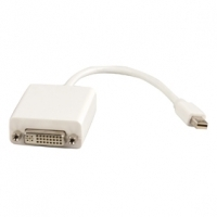 Mini DisplayPort To Female DVI Socket