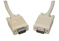20M MONITOR CABLE TRIPLE SHIELDED SVGA / VGA MALE TO MALE