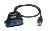 USB To Parallel IEEE1284 Centronics 36 Printer Cable