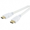 5M White HDMI Cable High Speed With Ethernet 4K