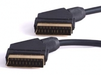 20M SCART LEAD GOLD PLATED PLUGS
